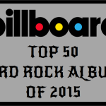 Billboard Top 50 Hard Rock Albums of 2015