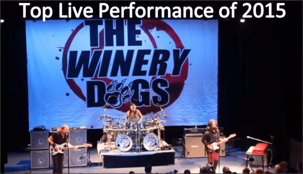 The Winery Dogs - Top Live Performance of 2015