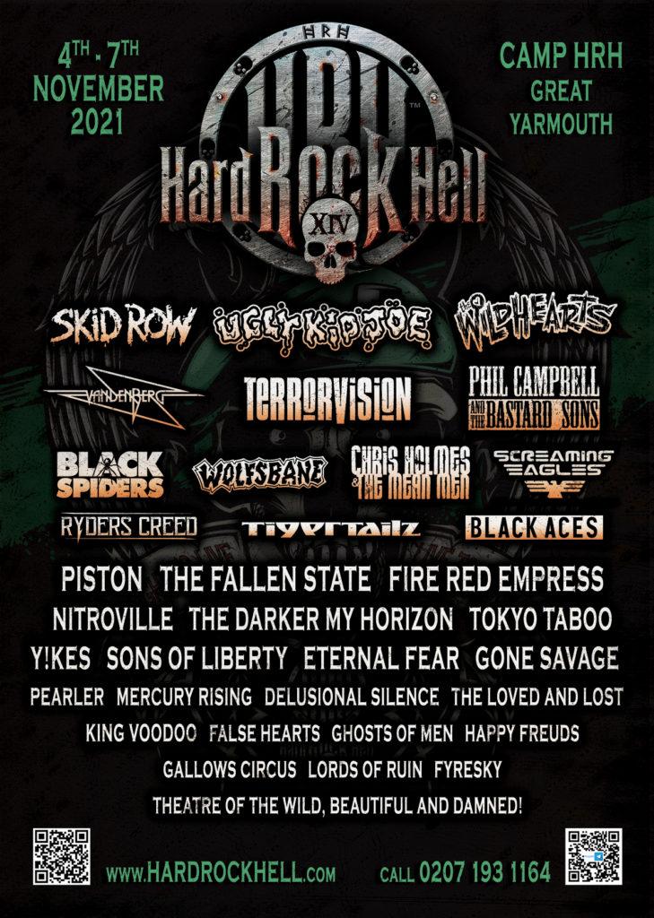 Win – HRH Hard Rock Hell