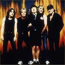 AC DC band pic