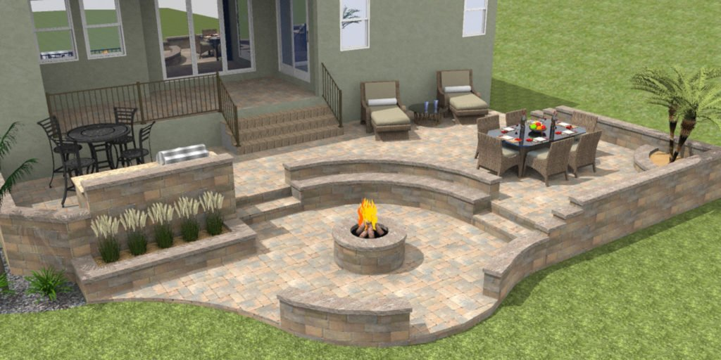 paver patio actually cost