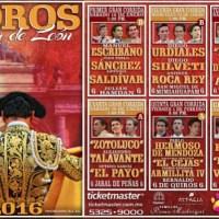 Feria de León 2016 - Corridas de Toros