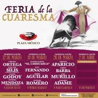 Plaza México:Feria de la Cuaresma del 12 de Marzo al 2 de Abril 2017