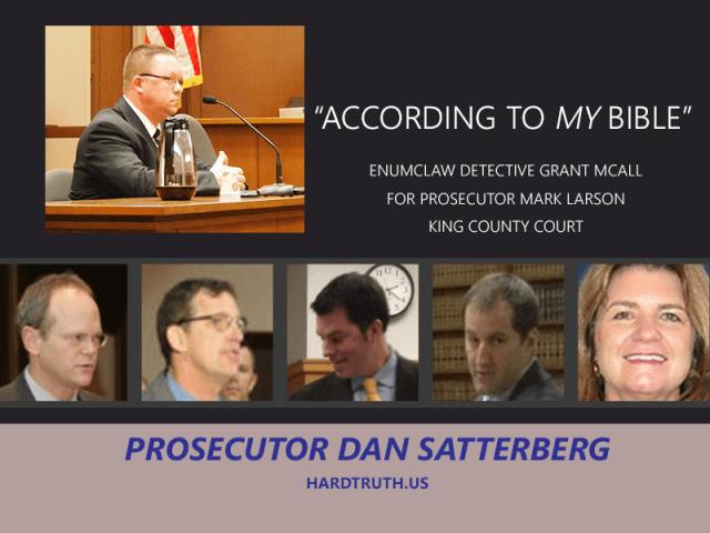 Prosecutor Dan Satterberg
