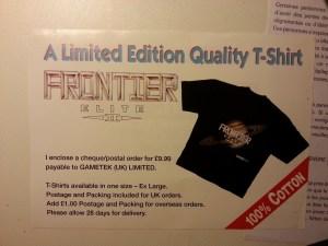 Tee-shirt Frontier Elite