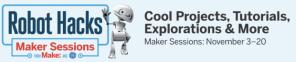 Robot Hacks : Notre projet est en Finale !