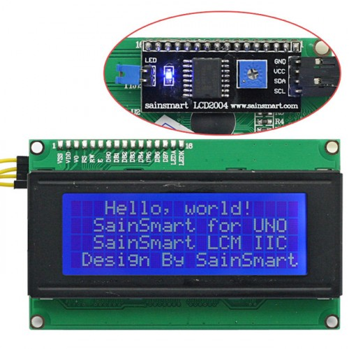 32 X 4 segment LCD driver using HT1621 for Arduino