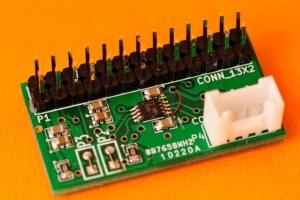 Carte adaptateur de niveau TCA9517A monté