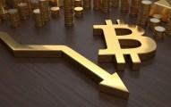 El precio del Bitcoin cae