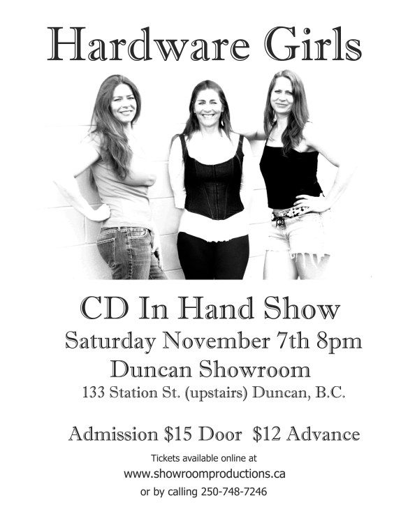 Hardware Girls CD In Hand Poster