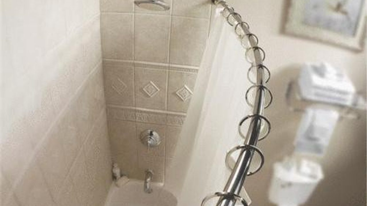 10 Best Curved Shower Curtain Rod Reviews Hardware