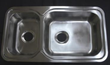 stainless steel kitchen sink double db650s