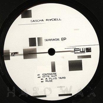 Cover art -  Sascha Rydell: Serrage EP