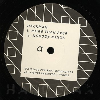 Cover art - Hackman: More Than Ever EP