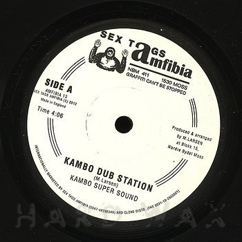 Cover art - Kambo Super Sound: Kambo Dub Station