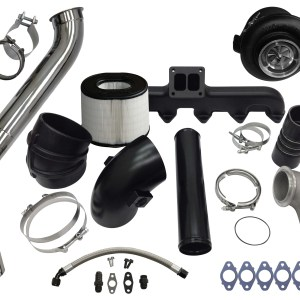Fleece 2nd Gen Swap Kit & S400 Turbocharger for 3rd Gen 5.9L Cummins (2003-2007)-0