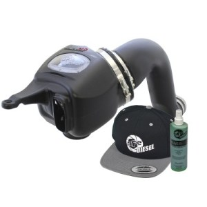 aFe POWER 51-72003-E Diesel Elite Momentum HD Pro DRY S Cold Air Intake System 2007.5-09-0