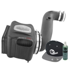 aFe POWER 51-74003-E Diesel Elite Momentum HD Pro DRY S Cold Air Intake System 2006-2007 6.6L-0