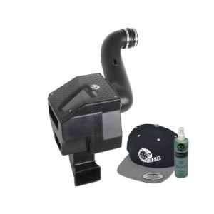 aFe POWER 51-81332-E Diesel Elite Stage-2 Si Pro DRY S Cold Air Intake System 2007.5-2010 6.6L-0