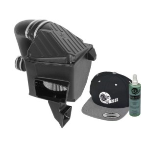 aFe POWER 51-81342-E Diesel Elite Stage-2 Si Pro DRY S Cold Air Intake System 2007.5-09-0