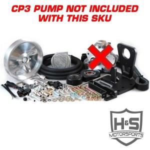H&S Motorsports 11-16 GM 6.6L Dual High Pressure Fuel Kit W/O CP3-0