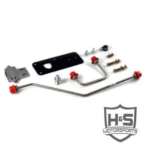 H&S Motorsports 07-16 Dodge 6.7L Dual High-Pressure Fuel Line Assembly-0