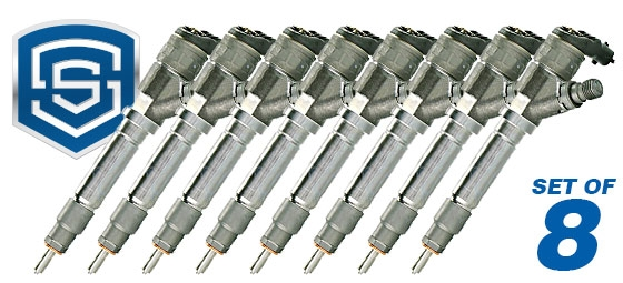 S&S 2004.5-2005 LLY Duramax 30% over Injector,Honed Nozzle-0
