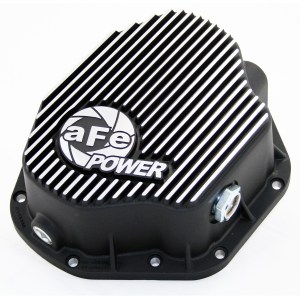 aFe POWER 46-70032 Rear Differential Cover, Machined Fins; Pro Series-0