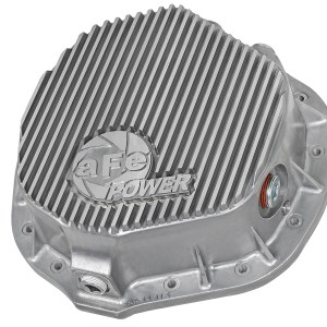 aFe POWER 46-70010 Rear Differential Cover, Raw Finish; Street Series -0