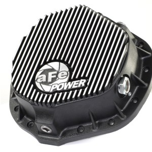 aFe POWER 46-70012 Rear Differential Cover, Machined Fins; Pro Series-0