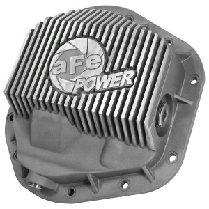 aFe POWER 46-70080 Front Differential Cover, Raw Finish; Street Series-0