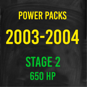 Stage 2 *650HP* Hardway Performance Power Packs for 2003-2004 Cummins-0