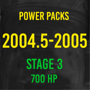 Stage 3 *700HP* Hardway Performance Power Packs for 2004.5-2005 Cummins-0