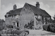 Two photographs of The Maltings taken in the 1930's. Note the higher roof level in the picture on the right illustrating changes made to the property.