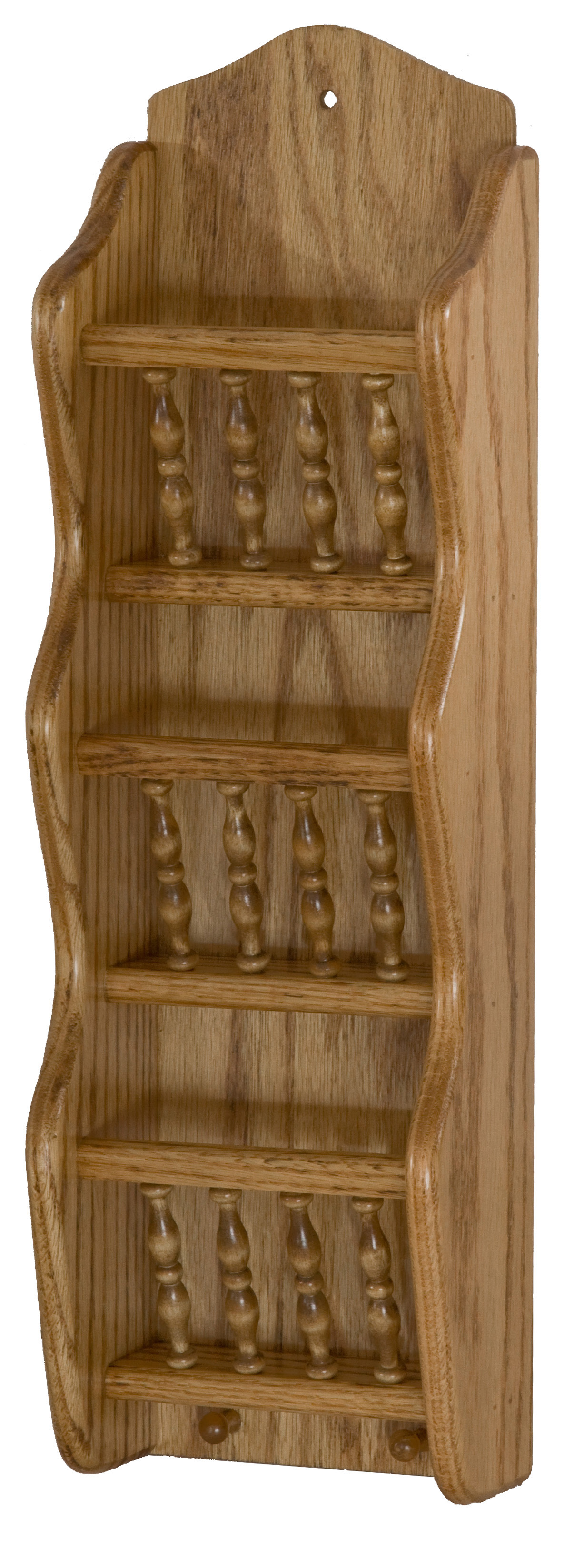 Three Tier Spindle Letter Holder Hardwood Creations