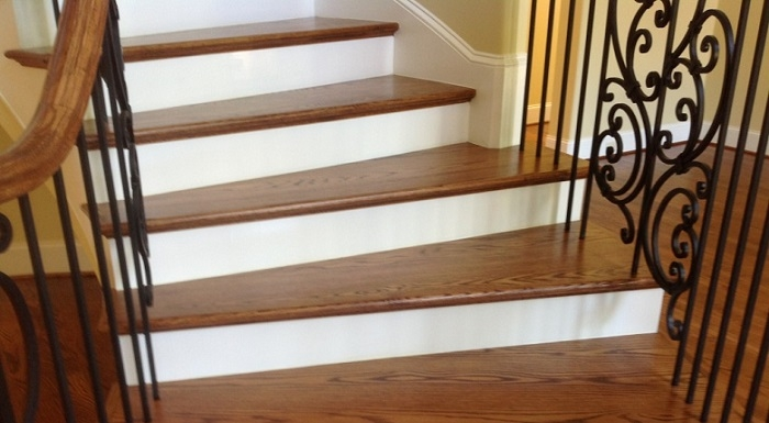 How To Keep Your Dog From Slipping On Hardwood Stairs | Dog Slipping On Wood Stairs | Steps | Hardwood Floors | Self Adhering | Hardwood | Puppy Treads