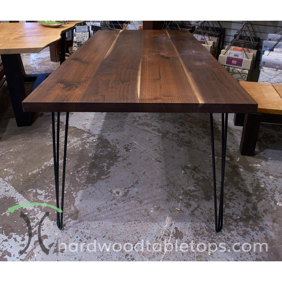steel and stainless hairpin table legs