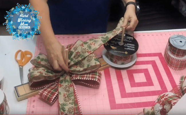 How to Make a Bow Topper Step 2