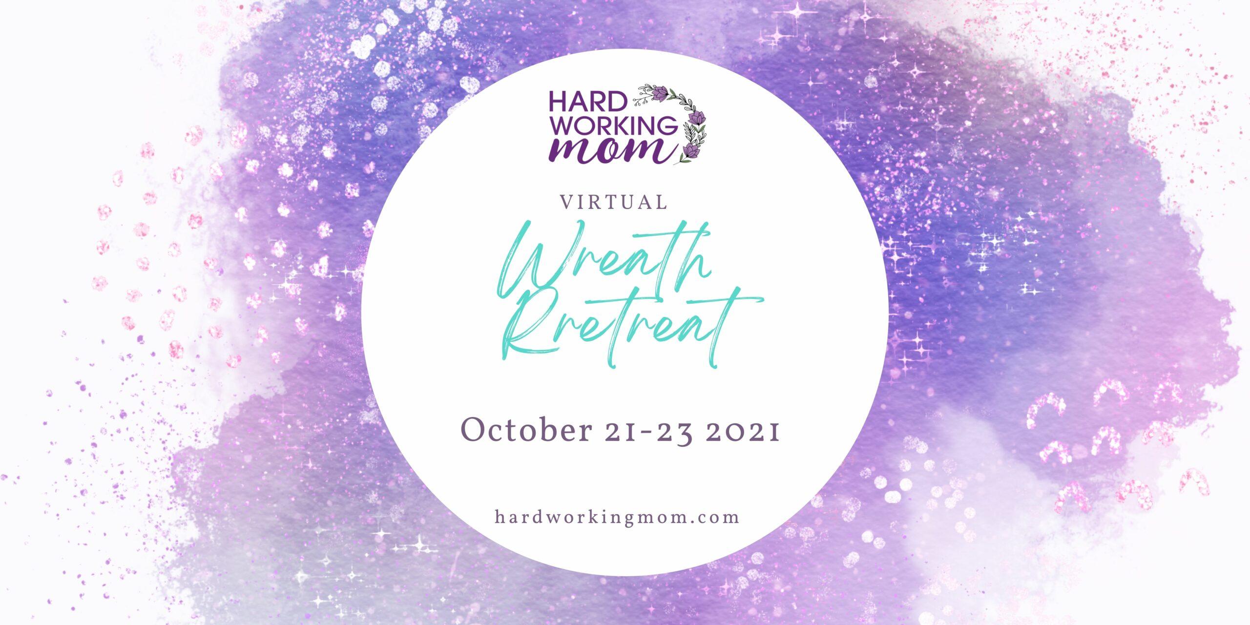 Virtual Wreath Retreat banner
