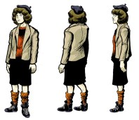 Hugo Production Design: Young Rene Tabard (early 2012)