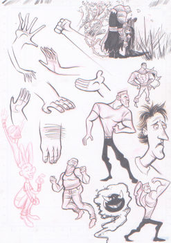 Inked Sketches 2