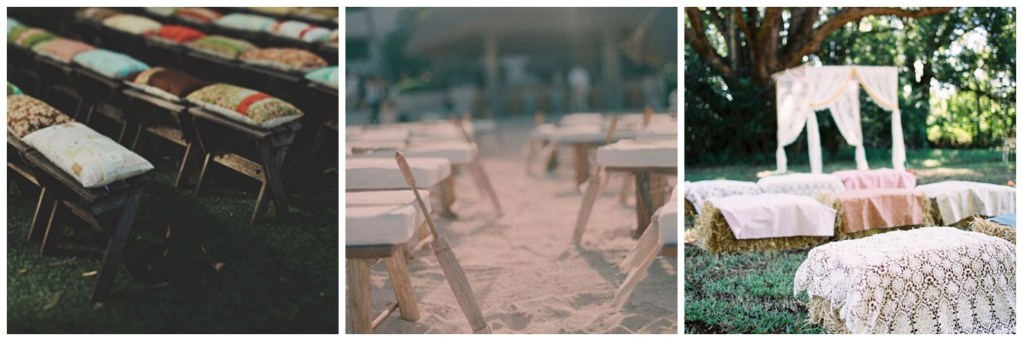 chair alternatives for wedding