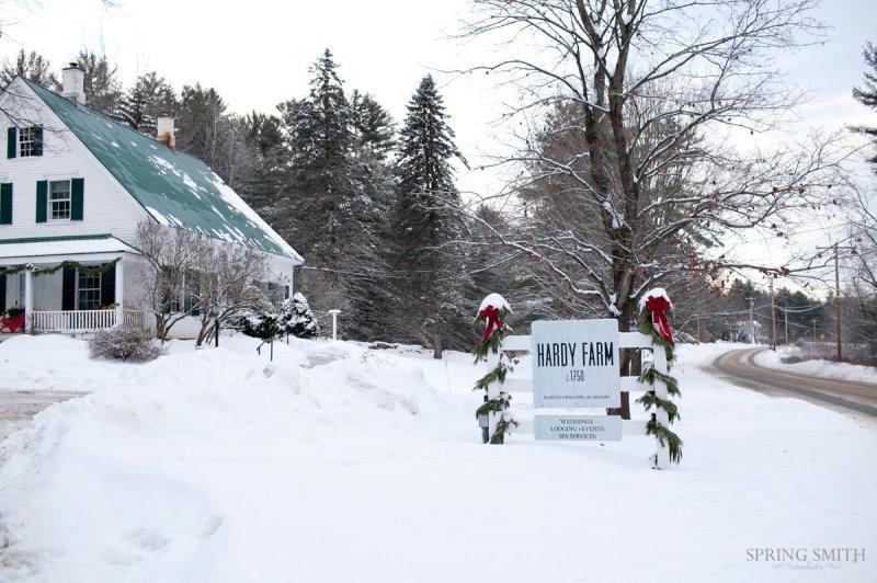 hardy farm winter wedding