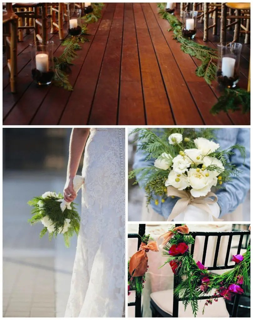 maine winter wedding inspiration