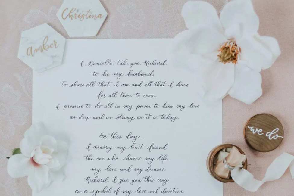 Recommended Wedding Invitations & Stationary: Letter & Adore
