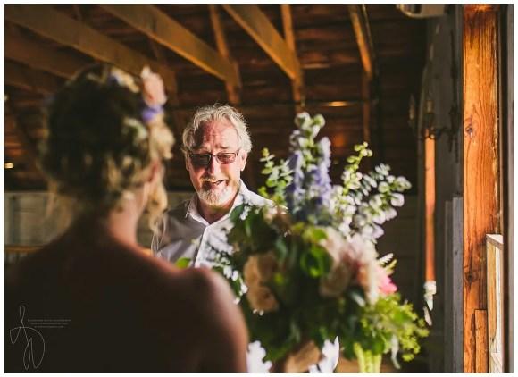 Summer Wedding - Dad & Bride