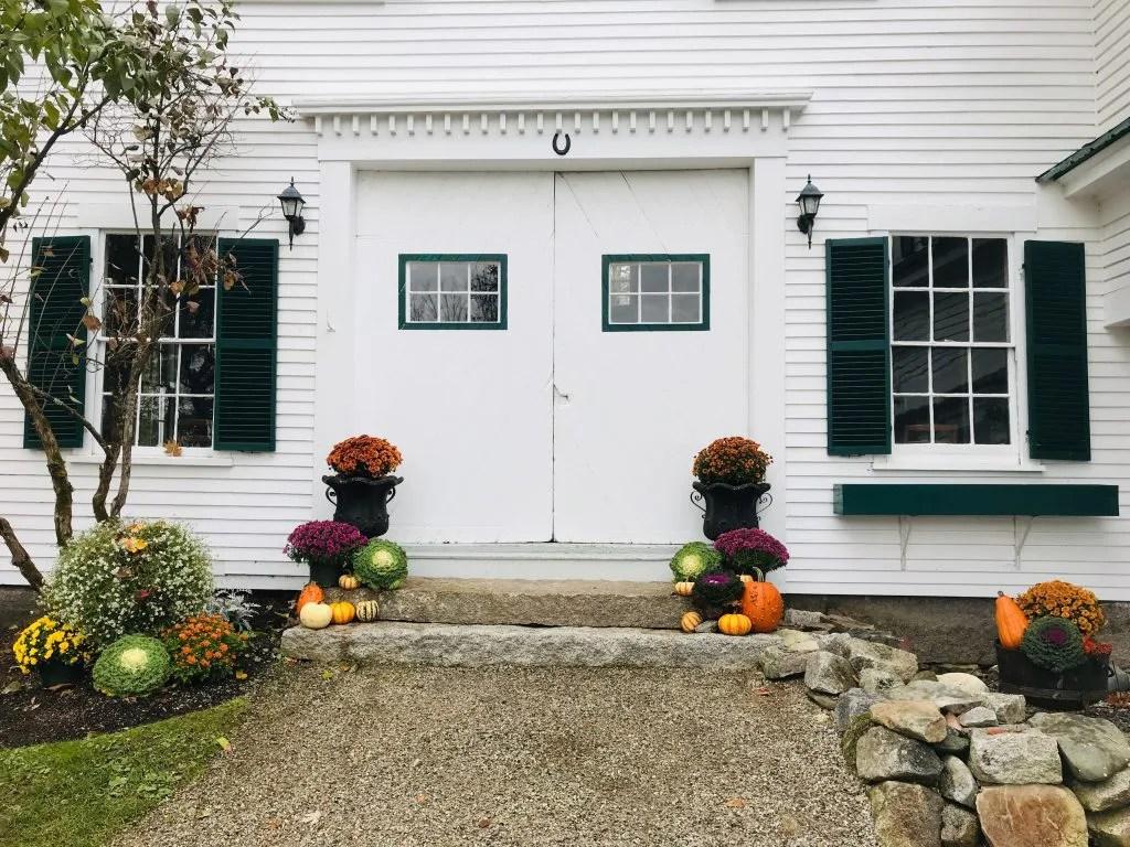 Hardy Farm barn doors november