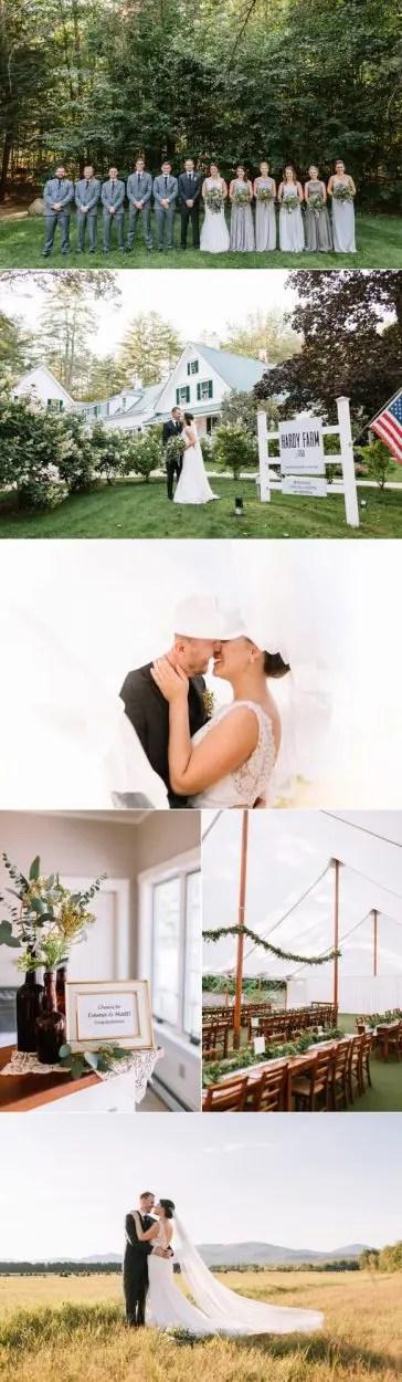 Emma and Matt Hardy Farm wedding