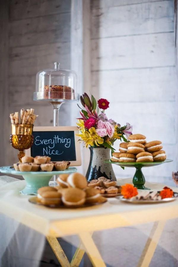 whoopie pie station at weddings