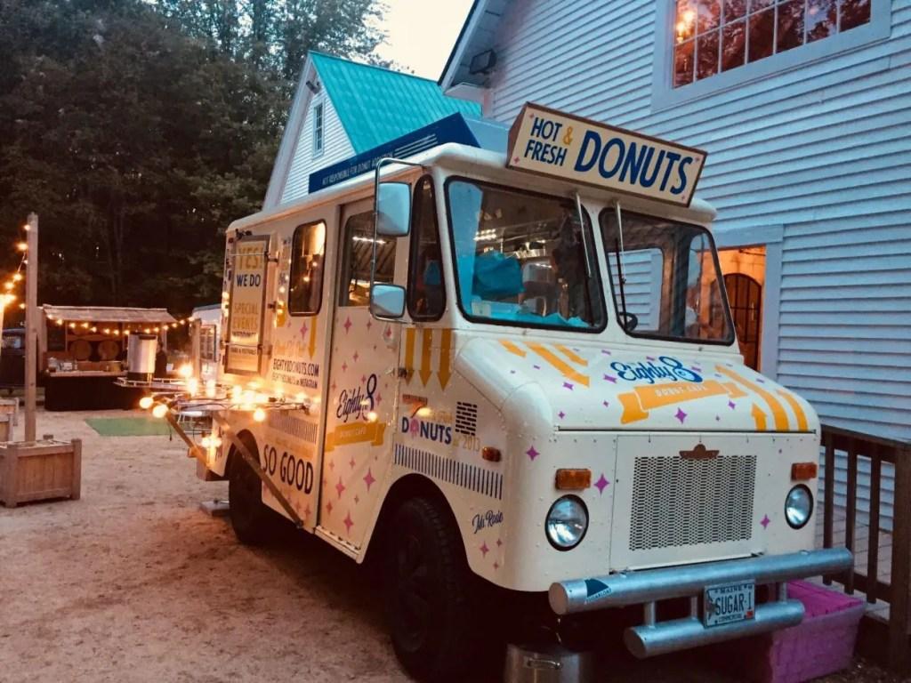 Donut food truck